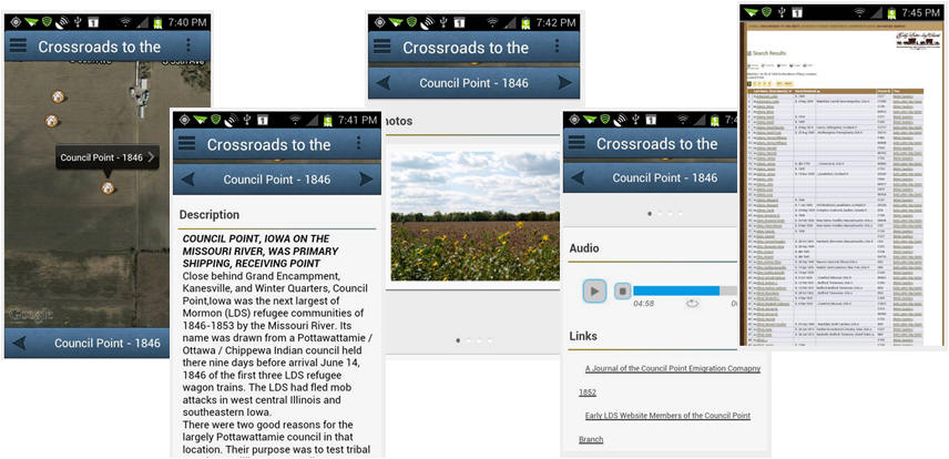 Screen Shots Adroid App