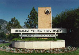 Brigham Young University Entrance
